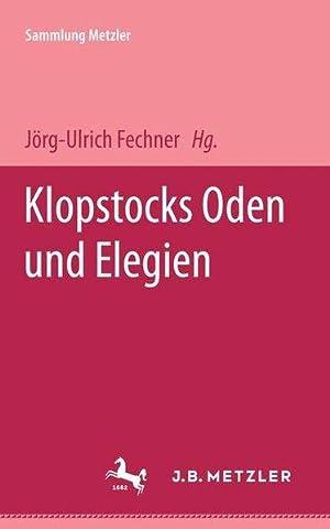 Bild des Verkäufers für Oden und Elegien. zum Verkauf von getbooks GmbH