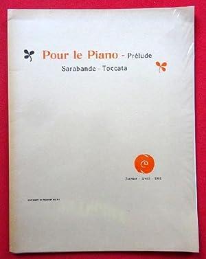Pour le piano - Prelude Sarabande Toccata: Debussy, Claude