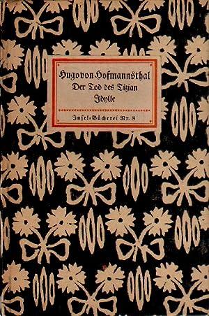 Der Tod des Tizian. Idylle.: von Hofmannsthal, Hugo: