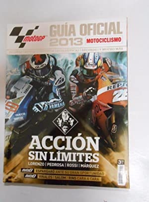 GUIA OFICIAL MOTO GP. MOTOCICLISMO. 2013. LORENZO,