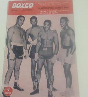 Imagen del vendedor de BOXEO - NUMERO 45 - NOVIEMBRE 1962 a la venta por TraperíaDeKlaus