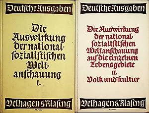Die Auswirkung der nationalsozialistischen Weltanschauung auf die: Iskraut, Martin Hrsg.: