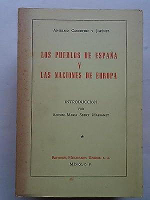 Los Pueblos de España y las Naciones: Carretero y Jiménez,