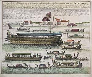 Eigentliche abbildung, derer in Venedig gebräuchlichen Schiffe,: Christoph WEIGEL