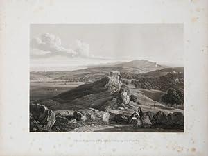 Vue des Murs d Agrigente prise du Temple: Achille Etienne GIGAULT