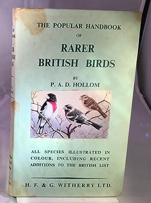 The Popular Handbook of British Birds: P.A.D.Hollom