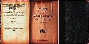 Immagine del venditore per Costruzioni di impianti elettrici (1906); Macchine elettriche (1916) venduto da libreria biblos
