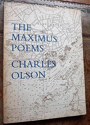 Immagine del venditore per The Maximus Poems venduto da Journobooks