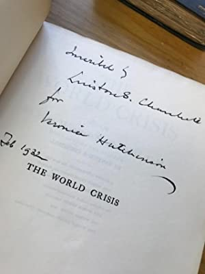 THE WORLD CRISIS: Churchill, Winston S.
