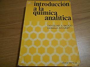 Introducción a la química analítica. Versión española: Skoog, Douglas A.