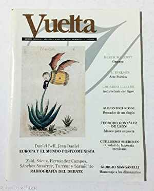 Revista Vuelta. Año XVIII. Junio de 1994.: Derek Walcott; Daniel
