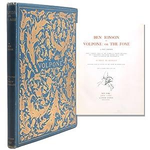 Volpone: or the Foxe.A New Edition. With: Beardsley, Aubrey) Jonson,