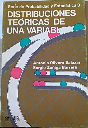 DISTRIBUCIONES TEORICAS DE UNA VARIABLE (SERIE DE: OLIVERA SALAZAR/ZUÑIGA BARRERA,