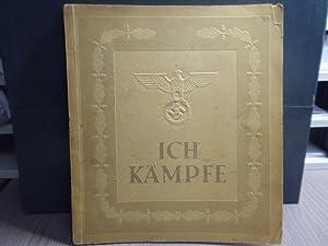 ICH KÄMPFE. Treuegelobnis - Ich Gelobe Meinem: HITLER Adolf -