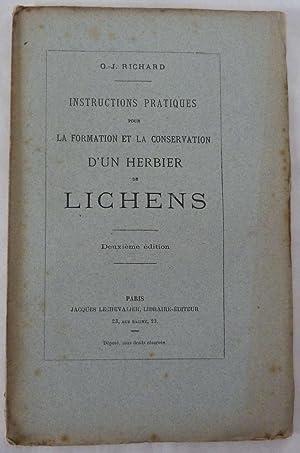Instructions pratiques pour la formation et la: Richard , O.-J.