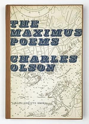 Immagine del venditore per The Maximus Poems venduto da Division Leap