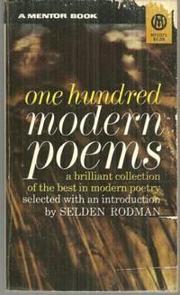 ONE HUNDRED MODERN POEMS: Rodman, Selden editor