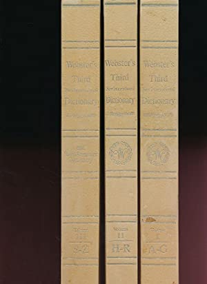 Seller image for Webster's third new international dictionary of the English language and seven language dictionary. Unabridged. for sale by Fundus-Online GbR Borkert Schwarz Zerfaß