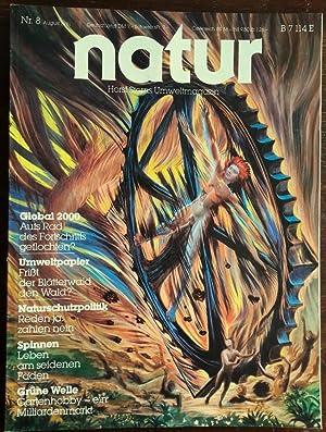 Bild des Verkäufers für Natur. Horst Sterns Umweltmagazin. 1981 - Nr. 8. zum Verkauf von buch-radel