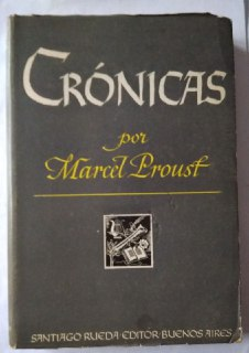 Crónicas: Proust, Marcel.