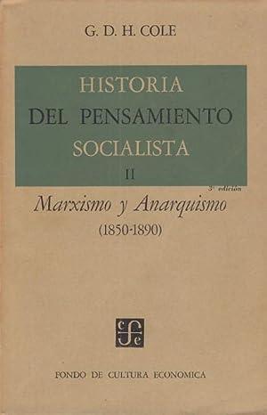HISTORIA DEL PENSAMIENTO SOCIALISTA II. MARXISMO Y: COLE, G. D.