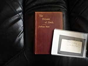 The Prisoner of Zenda (author-signed card)