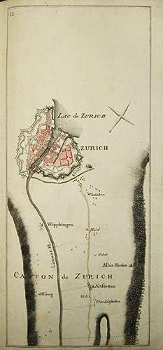 Carte topographique de la grande Route de: BEL, P.(ierre) (