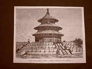 Immagine del venditore per Pechino nel 1863 Il Tempio dell'agricoltura Cina venduto da LIBRERIA IL TEMPO CHE FU