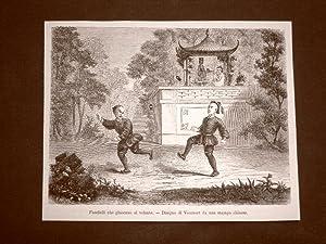 Immagine del venditore per Pechino nel 1863 Fanciulli o bambini che giocano al volante Cina venduto da LIBRERIA IL TEMPO CHE FU