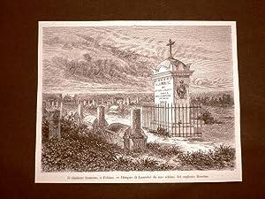 Immagine del venditore per Pechino nel 1863 Il Cimitero francese o di Francia Cina venduto da LIBRERIA IL TEMPO CHE FU