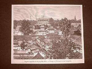 Immagine del venditore per Pechino nel 1863 Pagoda imperiale di Kwang-Min-Tien e Veduta di Pei-tha-sse Cina venduto da LIBRERIA IL TEMPO CHE FU