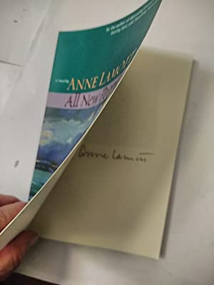 All New People **SIGNED BY AUTHOR** (SIGNATURE, NO INSCRIPTION, ON FRONT FLYLEAF)