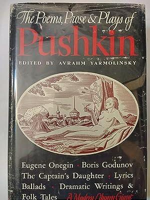 Poems, Prose and Plays of Alexander Pushkin,: Pushkin; Yarmolinsky