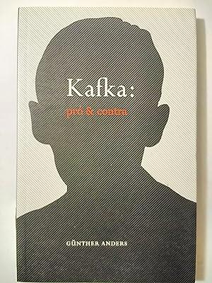 Kafka Pro e Contra: Os Autos do: Anders, Gunther