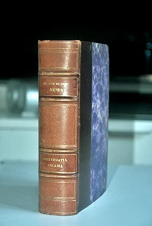 Crestomatia Arcaica. Excertos da literatura portuguesa desde: NUNES (Dr José