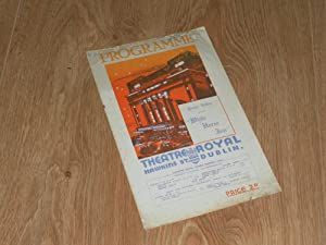 Programme: Week Commencing August 28th, 1939. Prince: Theatre Royal