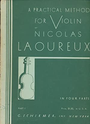 A Practical Method For Violin, Part 1: Laoureux, Nicolas