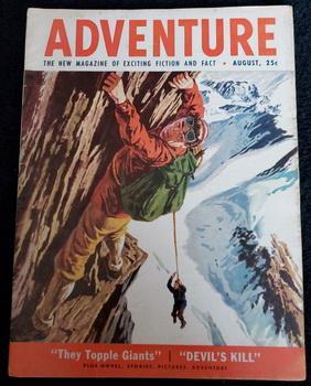 ADVENTURE Men Magazine August 1953 McDermott Sargon: S. V. Seavey;