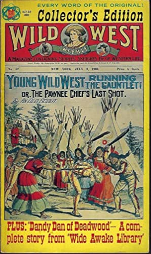 RUNNING THE GAUNTLET, Young Wild West, or: Old Scout (LeBlanc,