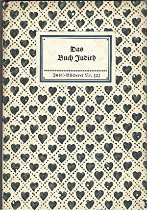 Das Buch Judith. Mit drei Holzschnitten (nach