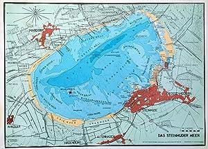 Tiefenkarte steinhuder meer Meerkarte vom