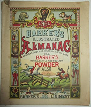 Barker's Illustrated Almanac, Farmer's Guide and Household: No author given