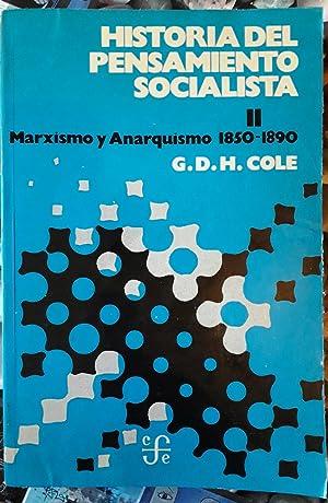 Historia del pensamiento socialista II. Marxismo y: G. D. H.