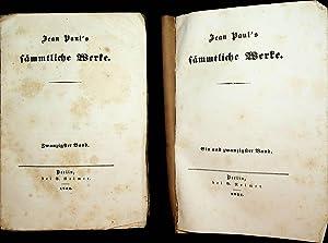 Flegeljahre. 2 Bände (=Jean Paul's sämmtliche Werke: Jean Paul (d.