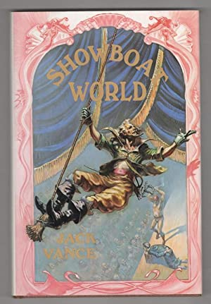 Showboat World by Jack Vance (First Edition) LTD Ned Dameron Art Signed