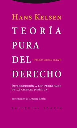 TEORIA PURA DEL DERECHO: KELSEN,HANS