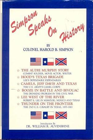 Simpson Speaks on History: Harold B. Simpson