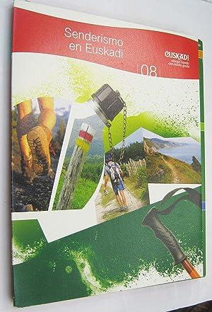 Imagen del vendedor de SENDERISMO EN EUSKADI - LIBRO ESTUCHE CON FICHAS ILUSTRADAS a la venta por LIBRERIA MONIMOON