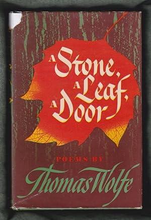 A Stone, a Leaf, a Door: Wolfe, Thomas