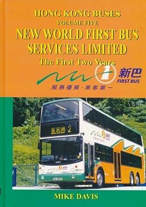 Hong Kong Buses Volume Five. New World: Davis, Mike